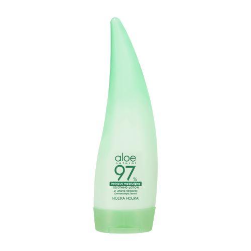 Holika Aloe 97% Soothing Gel Lotion Intensive Moisturizing hydratační tělové mléko 240 ml