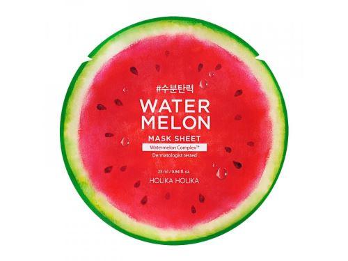 Holika Water Melon Mask Sheet hydratační platýnková maska s výtažkem z melounu 25 ml