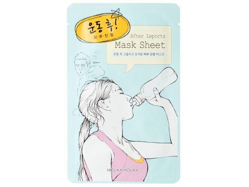 Holika After Mask Sheet - After Working out zklidňující platýnková maska 16 ml
