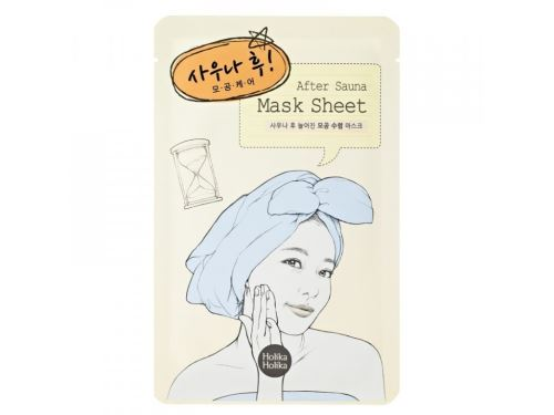 Holika After Mask Sheet - After Sauna platýnková maska na rozšířené póry 16 ml