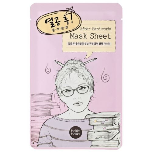 Holika After Mask Sheet - After Hard Study čistící platýnková maska 16 ml