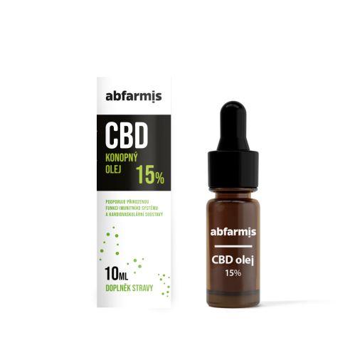 Abfarmis CBD olej 15% 10 ml