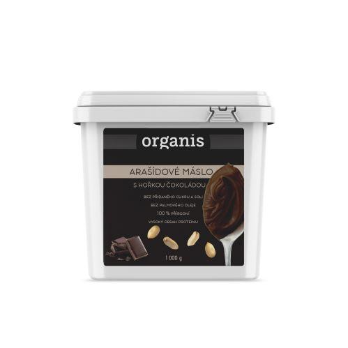 Organis Arašídový krém s hořkou čokoládou 1000 g