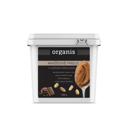 Organis Arašídový krém s mléčnou čokoládou 1000 g