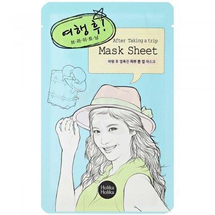 Holika After Mask Sheet - After Trip rozjasňující platýnková maska 16 ml
