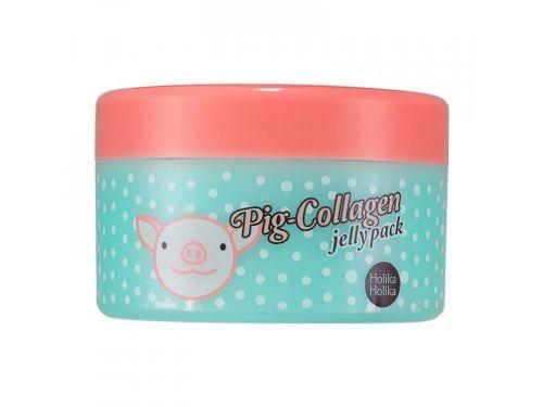 Holika Pig Collagen Jelly Pack vyživující a hydratační pleťová maska s kolagenem 80 ml