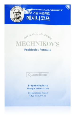 Holika Mechnikov's probiotics formula brightening mask rozj.platýn.maska s probiotiky25ml