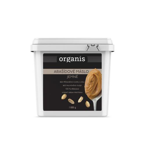 Organis Arašídové máslo jemné 1000 g
