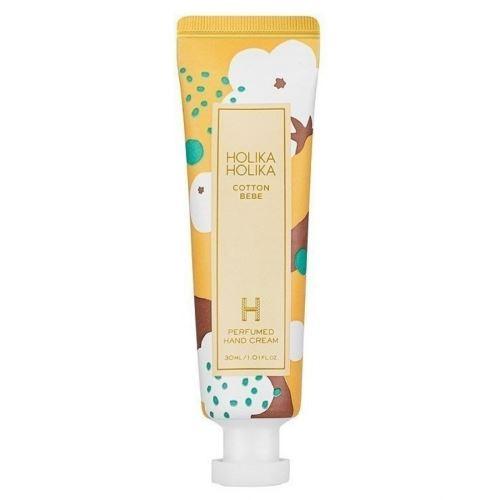 Holika Cotton Bebe Perfumed Hand Cream hydratační krém na ruce s vůní bavlny 30ml