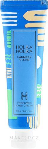 Holika Laundry Clean Perfumed Hand Cream hydratační krém na ruce s vůní čist. prádla 30 ml
