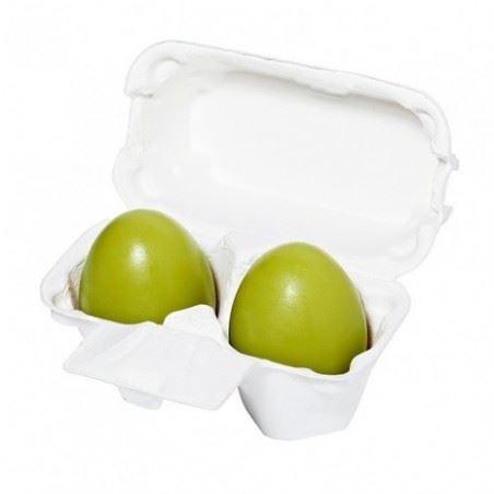 Holika Holika Green Tea Egg Soap čistící mýdlo s extraktem ze zeleného čaje