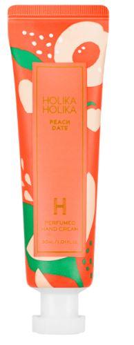Holika Peach Date Perfumed Hand Cream hydratační krém na ruce s vůní broskve 30 ml