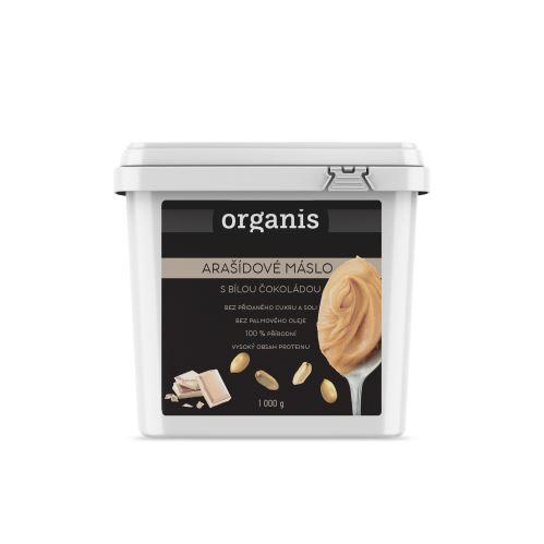 Organis Arašídové máslo s bílou čokoládou 1000 g