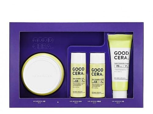 Holika Skin and Good Cera Cream gift set (Sensitive) sada hydratačních produktů